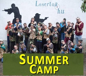 Summer camp with lasertag!